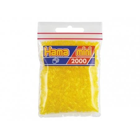 Acheter Sachet de 2000 perles HAMA MINI - jaune transparent 14 - 2,70€ en ligne sur La Petite Epicerie - 100% Loisirs créatifs