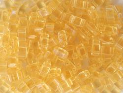 Acheter Perles Half Tila 2,3 mm - Transparent Pale Topaz TLH132 - 3,19€ en ligne sur La Petite Epicerie - Loisirs créatifs