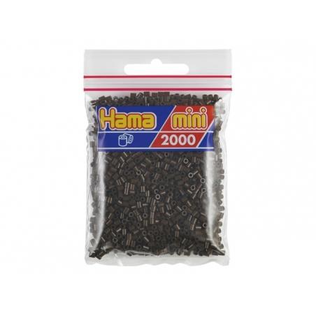 Acheter Sachet de 2000 perles HAMA MINI - marron 12 - 2,70€ en ligne sur La Petite Epicerie - 100% Loisirs créatifs