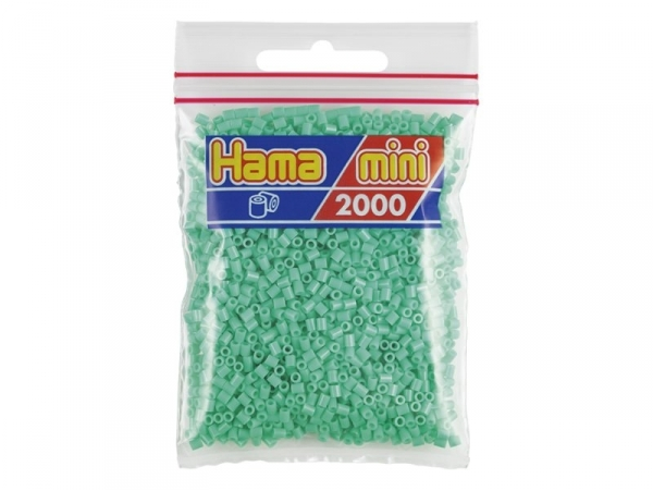 Sachet de 2000 perles HAMA MINI - vert clair 11