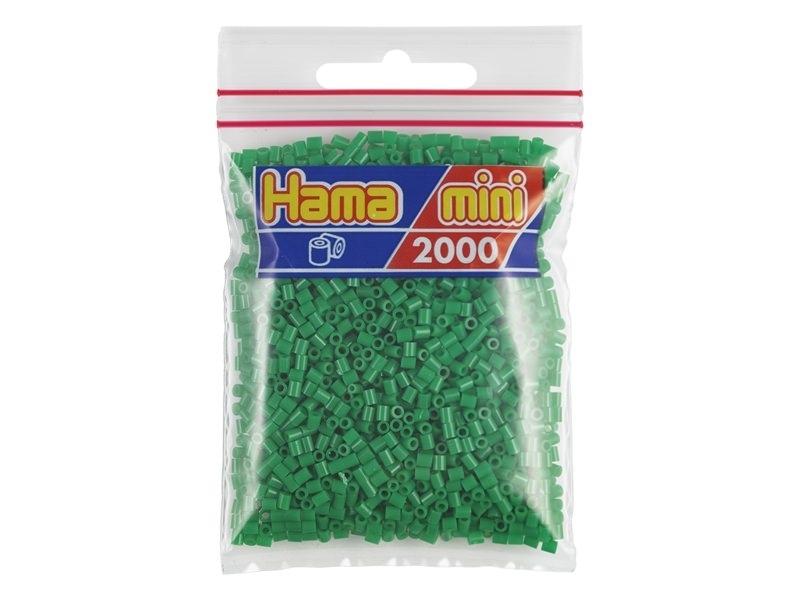 Sachet de 2000 perles HAMA MINI - vert 10