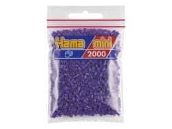 Sachet de 2000 perles HAMA MINI - violet 07