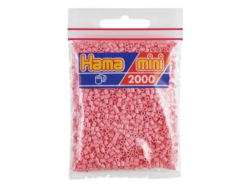 Sachet de 2000 perles HAMA MINI - rose 06