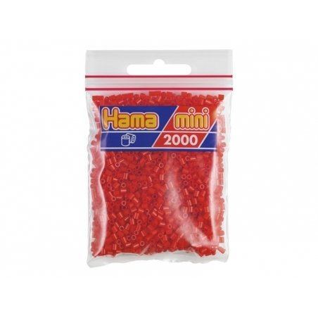 Acheter Sachet de 2000 perles HAMA MINI - rouge 05 - 2,70€ en ligne sur La Petite Epicerie - 100% Loisirs créatifs