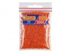 Sachet de 2000 perles HAMA MINI - orange 04