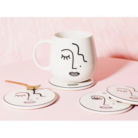 Acheter Mug visage abstrait - 10,99€ en ligne sur La Petite Epicerie - Loisirs créatifs