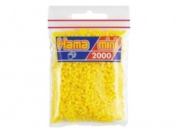 Sachet de 2000 perles HAMA MINI - jaune