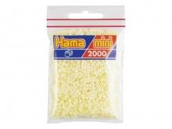 Tüte mit 2.000 HAMA-Mini-Perlen - cremefarben