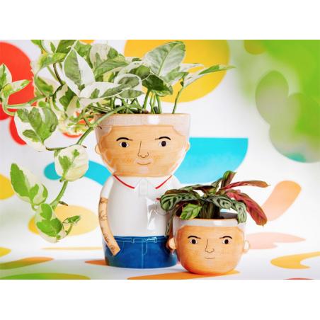 Acheter Petit pot à plante - Mini Bradley - 6,69€ en ligne sur La Petite Epicerie - Loisirs créatifs