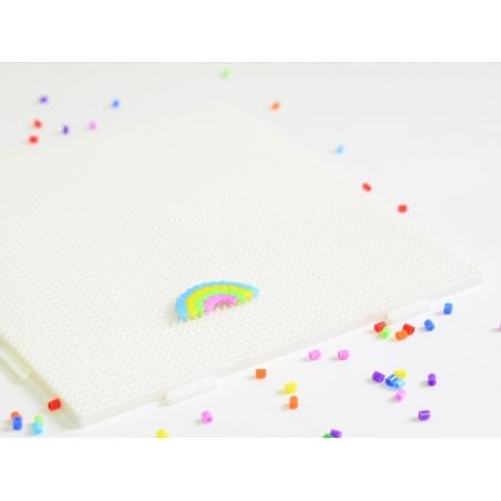 plaque support pour perles HAMA MINI - grand carré