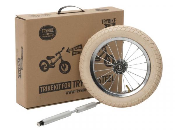 Acheter Kit d'extension pour transformer la draisienne Trybike en tricycle - 39,99€ en ligne sur La Petite Epicerie - Loisir...