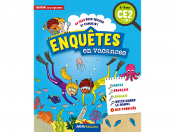 Acheter Cahier de vacances - Enquêtes en vacances du CE2 au CM1 - 5,95€ en ligne sur La Petite Epicerie - Loisirs créatifs