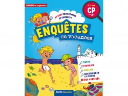 Acheter Cahier de vacances - Enquêtes en vacances du CP au CE1 - 5,95€ en ligne sur La Petite Epicerie - Loisirs créatifs