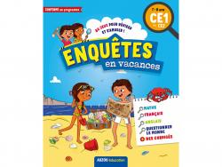 Acheter Cahier de vacances - Enquêtes en vacances du CE1 au CE2 - 5,95€ en ligne sur La Petite Epicerie - Loisirs créatifs