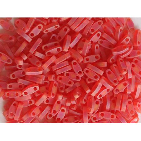 Acheter Perles Quarter Tila - Matte Transparent Red Orange QTL140FR - 3,69€ en ligne sur La Petite Epicerie - Loisirs créatifs