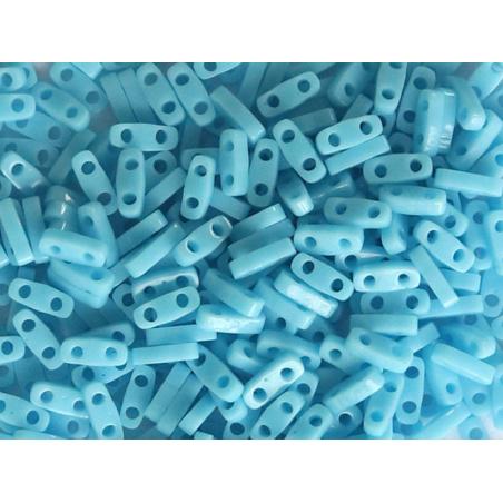 Acheter Perles Quarter Tila - Opaque Turquoise Blue QTL413 - 3,39€ en ligne sur La Petite Epicerie - Loisirs créatifs