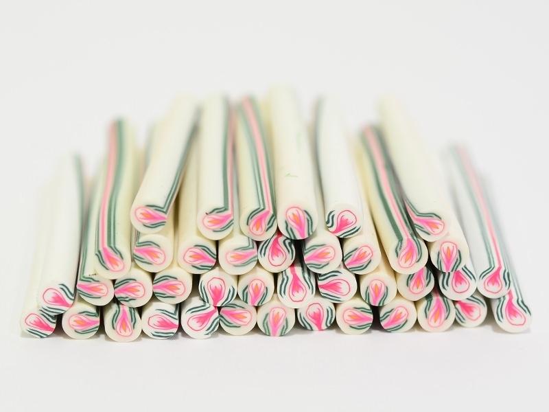 Acheter Cane bourgeon en fleur en pâte fimo - à découper en tranches - 0,99€ en ligne sur La Petite Epicerie - Loisirs créatifs