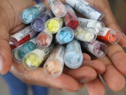 Acheter Perles Quarter Tila - Matte Opaque Turquoise QTL412FR - 3,39€ en ligne sur La Petite Epicerie - Loisirs créatifs