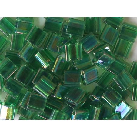 Acheter Perles Tila Bead 5mm - Transparent Green Luster TL179 - 2,99€ en ligne sur La Petite Epicerie - Loisirs créatifs
