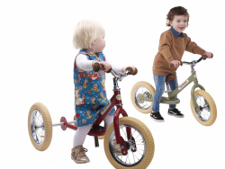 Acheter Draisienne 2 roues vintage - rouge - 99,00€ en ligne sur La Petite Epicerie - Loisirs créatifs
