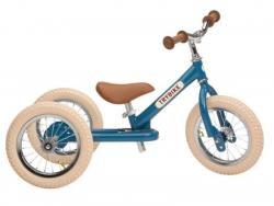 Acheter Pack vélo 2 en 1 : draisienne transformable en tricycle vintage bleu - Trybike - 138,99€ en ligne sur La Petite Epic...