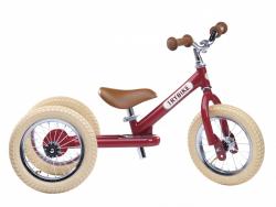 Acheter Pack vélo 2 en 1 : draisienne transformable en tricycle vintage rouge - Trybike - 138,99€ en ligne sur La Petite Epi...