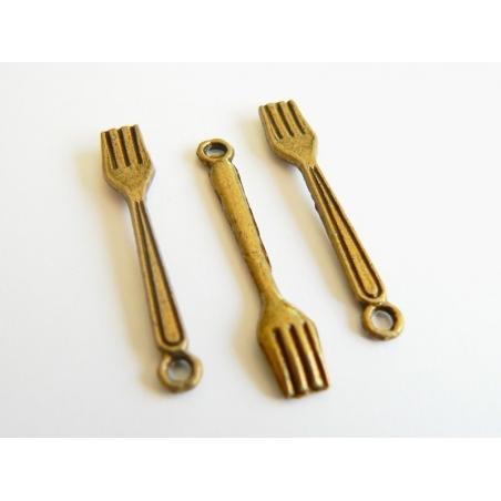 Acheter 1 Fourchette - couleur bronze - 0,39€ en ligne sur La Petite Epicerie - 100% Loisirs créatifs