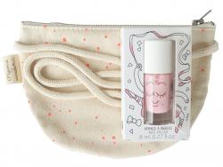 Acheter Sac demi-lune et vernis à ongles rose - 12,49€ en ligne sur La Petite Epicerie - Loisirs créatifs