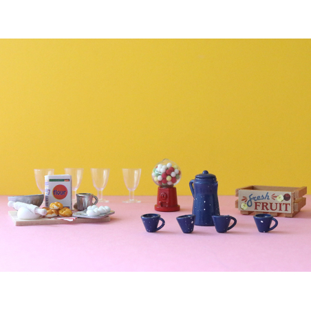 Acheter Machine / distributeur à bonbons - miniature au 1/12 ème - 2,99€ en ligne sur La Petite Epicerie - Loisirs créatifs