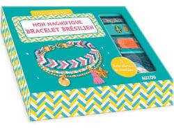 Acheter Kit créatif - mon magnifique bracelet brésilien - mon superbe bijou - 7,95€ en ligne sur La Petite Epicerie - Loisir...