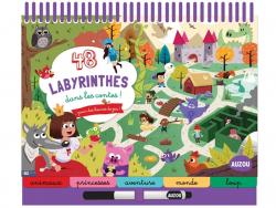 Acheter 48 labyrinthes - Dans les contes - 9,95€ en ligne sur La Petite Epicerie - Loisirs créatifs