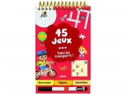 Acheter 45 jeux dans les transports ! de Céline Potard - 5,95€ en ligne sur La Petite Epicerie - Loisirs créatifs