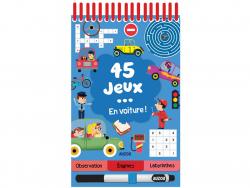 Acheter 45 jeux en voiture ! de Céline Potard - 5,95€ en ligne sur La Petite Epicerie - Loisirs créatifs