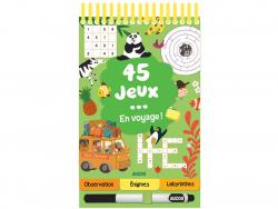 Acheter 45 jeux en voyage ! de Céline Potard - 5,95€ en ligne sur La Petite Epicerie - Loisirs créatifs
