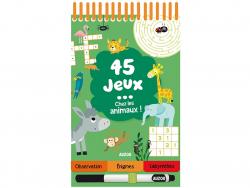 Acheter 45 jeux chez les animaux ! de Céline Potard - 5,95€ en ligne sur La Petite Epicerie - Loisirs créatifs