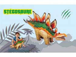 Acheter Coffret Construis un dinosaure géant en 3D - Stégosaure - 19,90€ en ligne sur La Petite Epicerie - Loisirs créatifs