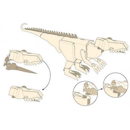 Acheter Coffret Construis un dinosaure géant en 3D - T-Rex - 19,90€ en ligne sur La Petite Epicerie - Loisirs créatifs