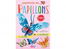 Acheter Coffret Construis en 3D Papillons - 8 papillons à assembler - 9,90€ en ligne sur La Petite Epicerie - Loisirs créatifs