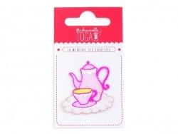Joli écusson thermocollant - Service à thé