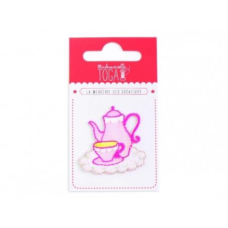 Joli écusson thermocollant - Service à thé Toga - 2