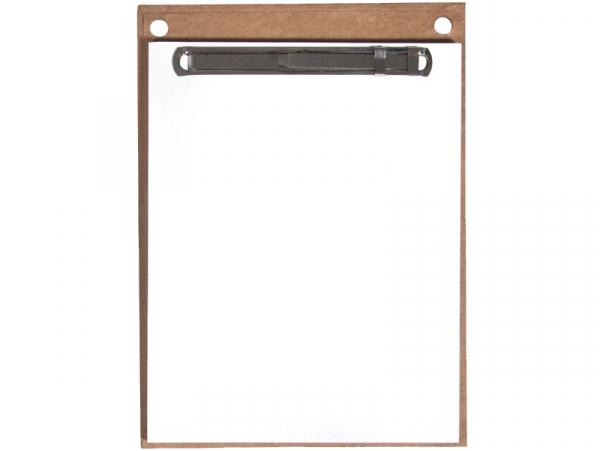 Acheter Support en carton avec pense-bêtes - 11,5 x 15,5 x 30 cm - 2,99€ en ligne sur La Petite Epicerie - Loisirs créatifs