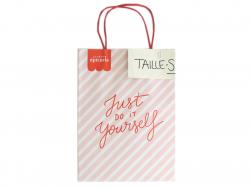 """Acheter Lot de 300 Paper bag """"Just do it"""" - Taille S - (200 x 100 x 275 mm) - 0,00€ en ligne sur La Petite Epicerie - Loisir..."""