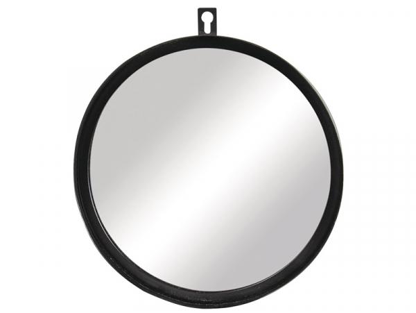 Acheter Miroir en métal - Noir - 18 cm - 9,99€ en ligne sur La Petite Epicerie - Loisirs créatifs