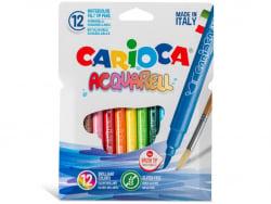 Acheter Feutres Aquarell - 12 couleurs - Carioca - 4,89€ en ligne sur La Petite Epicerie - Loisirs créatifs