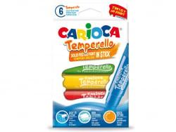 Acheter Set de 6 gouaches solides - Temperello - Carioca - 7,89€ en ligne sur La Petite Epicerie - Loisirs créatifs