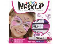 Acheter 3 sticks de peinture sur visage - Maskup Princesse - Carioca - 7,49€ en ligne sur La Petite Epicerie - Loisirs créatifs