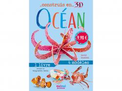 Acheter Coffret Construis en 3D Océan - 8 animaux à assembler - 9,90€ en ligne sur La Petite Epicerie - Loisirs créatifs