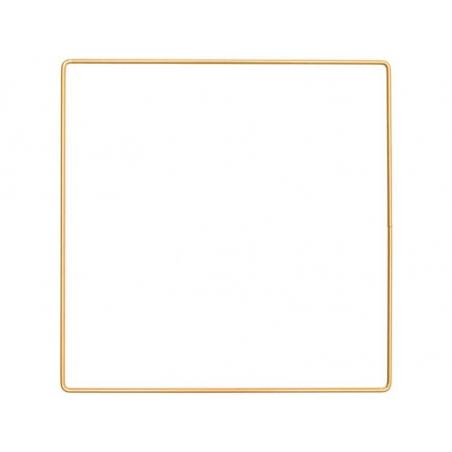 Acheter Carré en métal doré - 20 x 20 cm - 2,89€ en ligne sur La Petite Epicerie - Loisirs créatifs