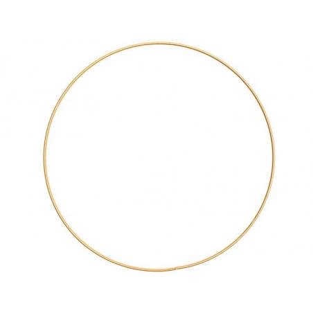 Acheter Cercle en métal doré - 25 cm - 2,89€ en ligne sur La Petite Epicerie - Loisirs créatifs