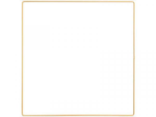 Acheter Carré en métal doré - 25 x 25 cm - 2,99€ en ligne sur La Petite Epicerie - Loisirs créatifs
